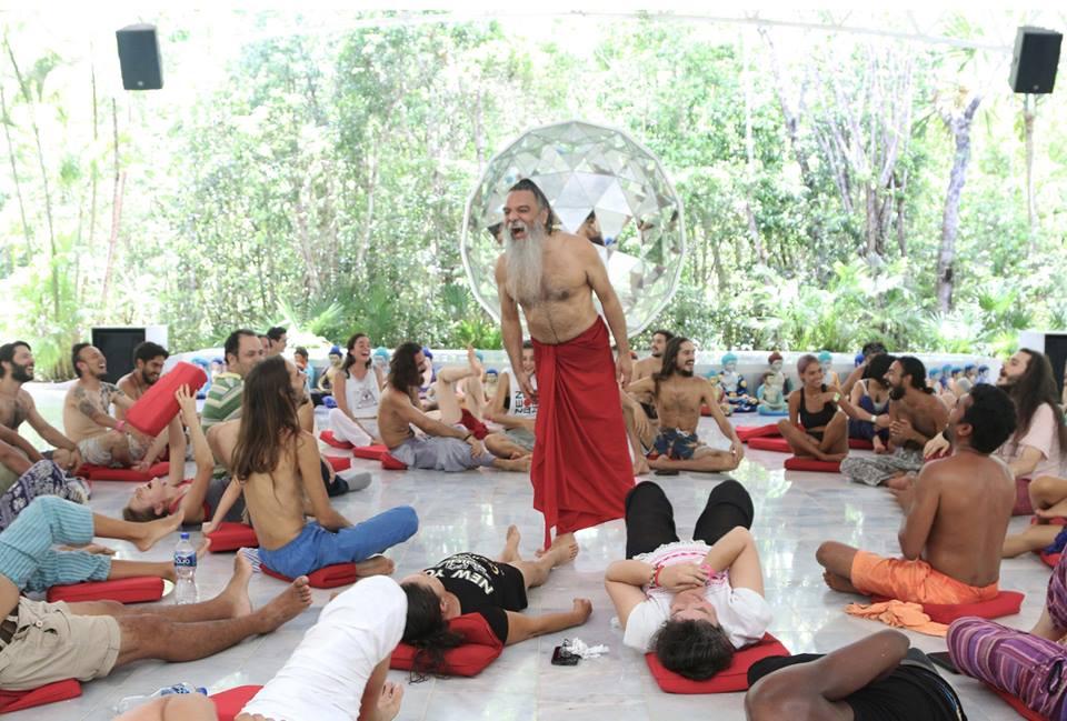mystic rose meditation with ozen rajneesh