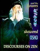 osho and the flowers showered